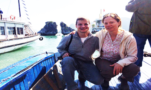derek-and-simone-halong-bay