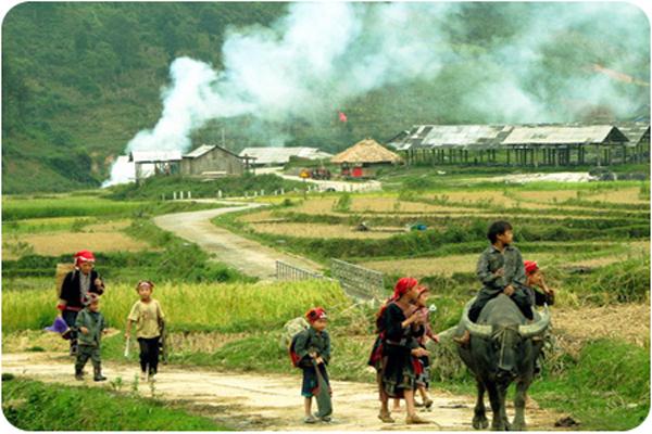 Lao Chai - Ta Van trekking